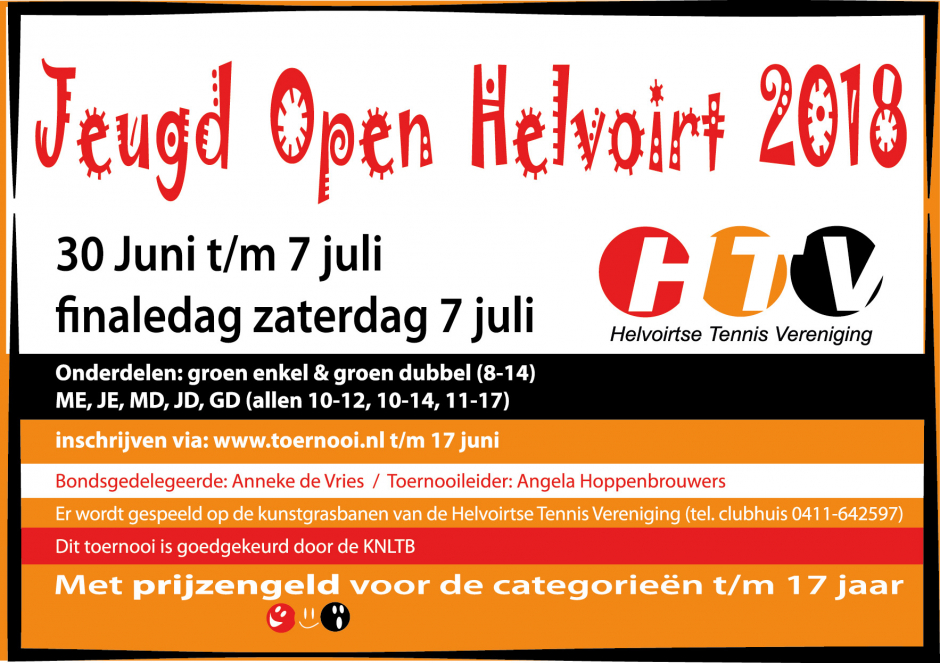 Helvoirt Jeugd Open 2018